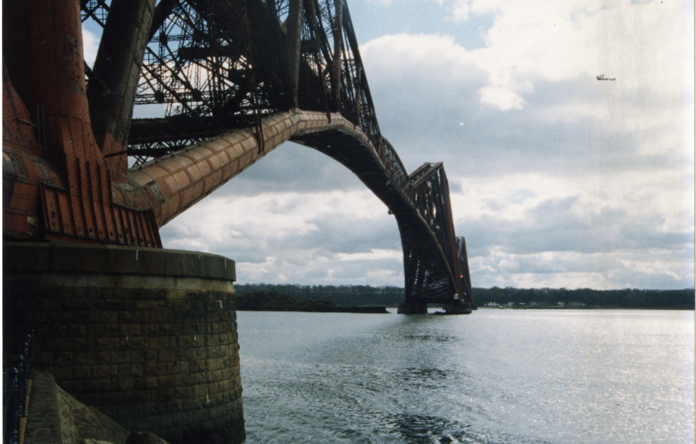... and the whole track across the Forth was renewed between 1992 and 1995