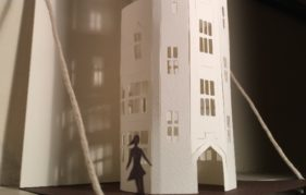 Another of Boo's acclaimed paper sculptures
