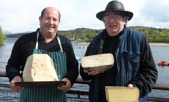 Enjoy some culinary delights down by the loch with Springfest.