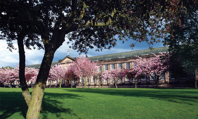 George Watson's College, where Gavin spent 13 years