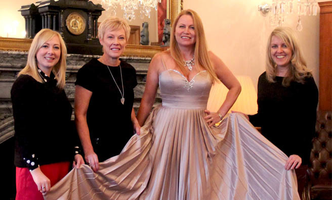There will also be a Michelle Mone dress auction at Fizz Friday