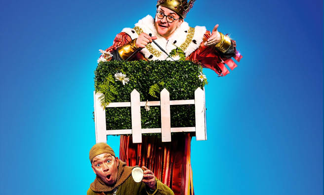 Monty Python's Spamalot gallops to The Edinburgh Playhouse this week.