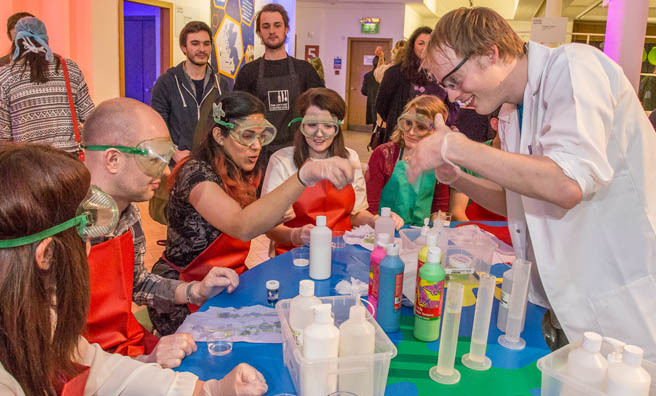 Celebrate science and technology with the Edinburgh International Science Festival. Image: Aly Wight