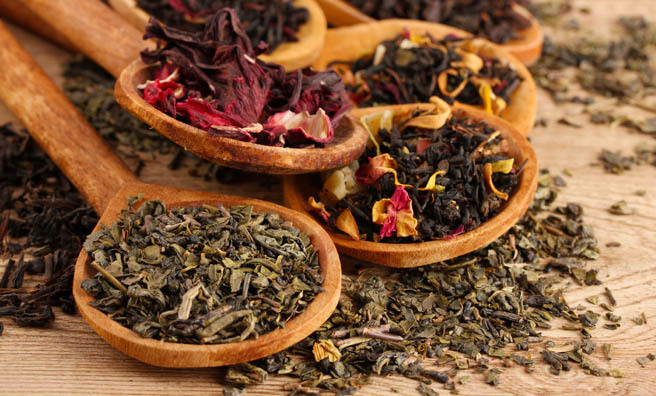 There are over 80 speciality teas on offer at Tchai Ovna.