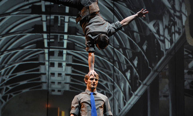 Enter a fantasy with Cirque Eloize's Cirkopolis. Image: Valerie Remise.