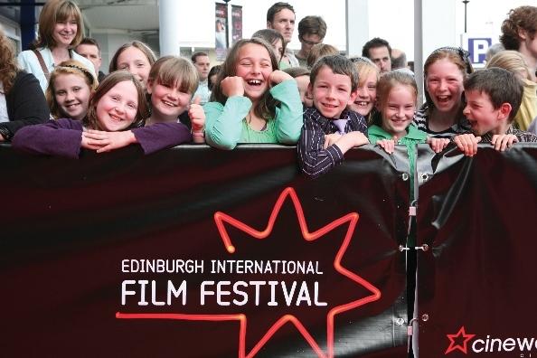 Young film fans at Edinburgh International Film Festival