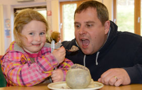 "Sarah Burton of Spean Bridge is the new ""leading local haggis expert""!"