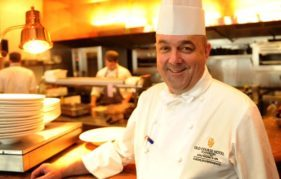 Martin Hollis, chef at the Old Course Hotel, who will be at the St Andrews farmers market
