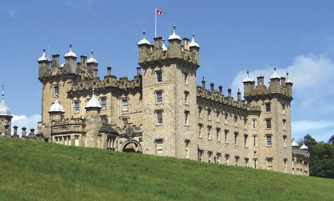 Floors Castle in Kelso is a stronghold for nuthatches