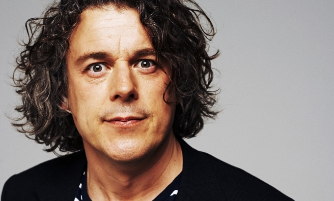 Alan Davies is just one of the many comedy legends appearing at the Gilded Balloon's 30th Anniversary Gala event. Photo by Tony Briggs
