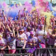Get ready for the first Glasgow Color Run.