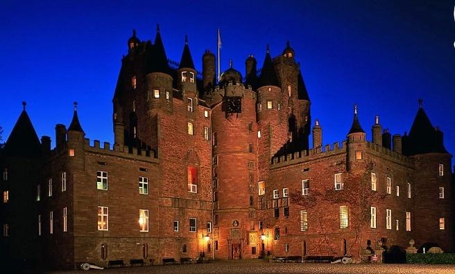 Glamis Castle. Photo copyright Glamis Castle