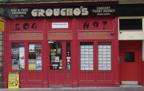 Groucho's is a music-lovers treasure trove