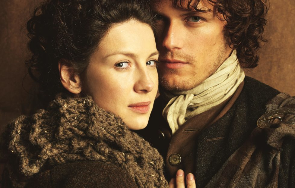 Claire and Jamie Fraser from the Outlander TV series
