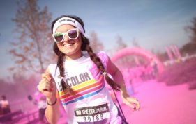 Brighten up your keep fit campaign at the Color Run in Glasgow