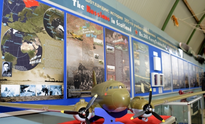 Part of the Russians are Coming Exhibition at Montrose Air Station Heritage Centre. Photo by Neil Werninck