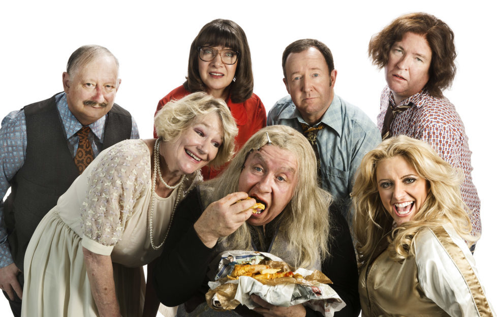 Gregor Fisher's new role as Yer Granny! Pic: Eoin Carey