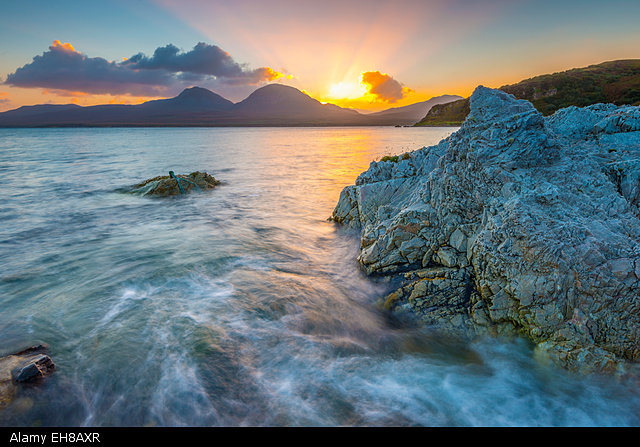 Isle of Jura from Islay, Argyll and Bute. Pic: Alamy
