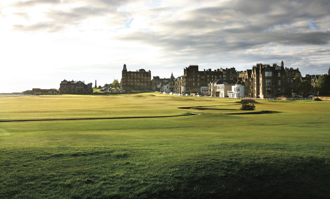 The Old Course, St Andrews (Pic: St Andrews Links)