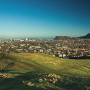 Rory's favourite view from Blackford Hill (Pic: Alamy)