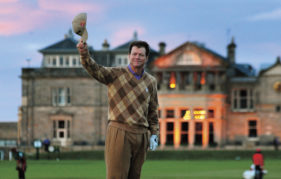 Tom Watson at St Andrews (Pic: Press Association)