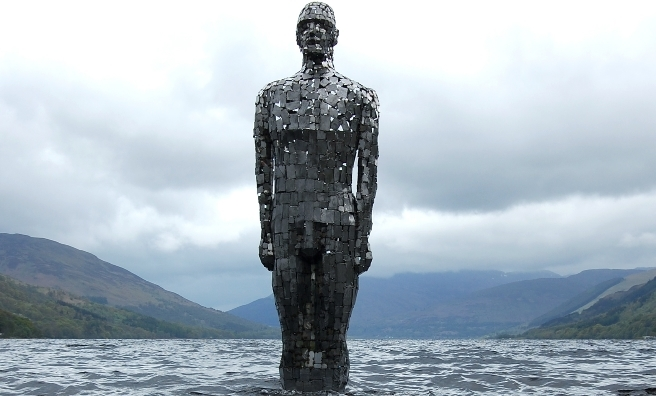 Still by Rob Mulholland - a powerful prescence on Loch Earn. Photo by Rob Mulholland