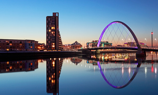 Glasgow - the city of love!