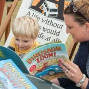 The Edinburgh International Book Festival appeals to all ages. Photo courtesy of Edinburgh International Book Festival