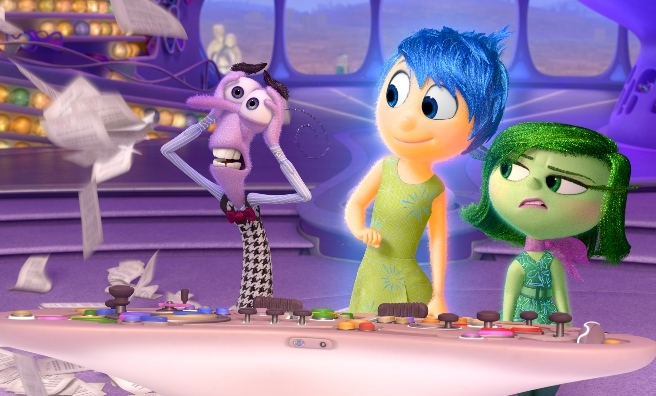 Disney-Pixar's Inside Out is one of the 134 new films on show at Edinburgh International Film Festival.