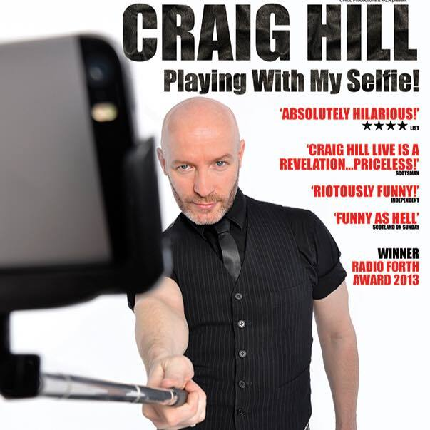 "Craig's new tour ""Playing With My Selfie""... double entendre entirely intended"