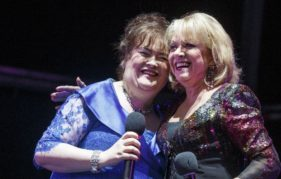 Susan Boyle and Elaine Paige - First Ladies of Glamis Prom. Steve Welsh Photography.