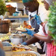 Food glorious food at Foodies Festival in Edinburgh