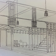 Mackintosh's original designs for the Oak Room