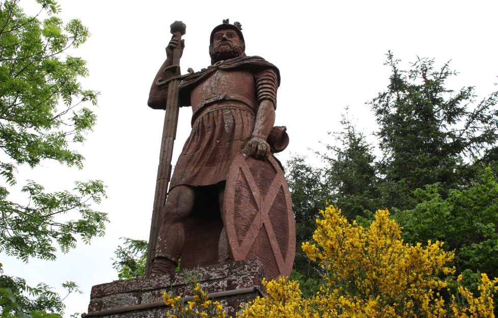 The Borders' monument to William Wallace
