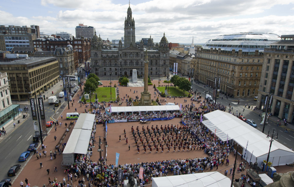 Piping Live! has been sadly absent from George Square for the past two years.