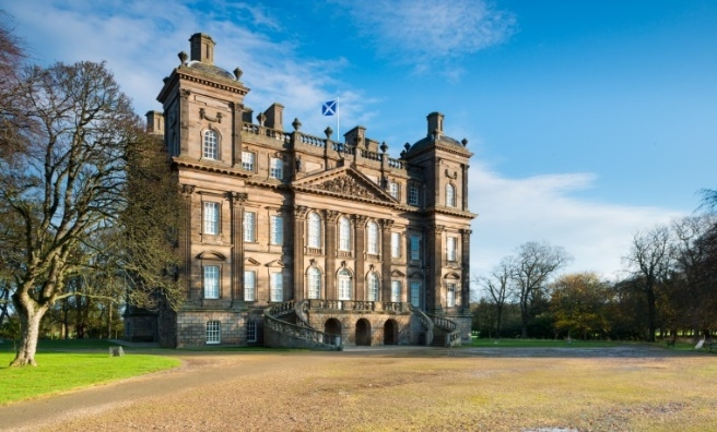 Duff House, near Banff. Photo Crown Copyright Historic Scotland. Reproduced courtesy of Historic Scotland.