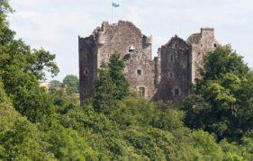 Doune Castle. © Crown Copyright Reproduced Courtesy of Historic Scotland