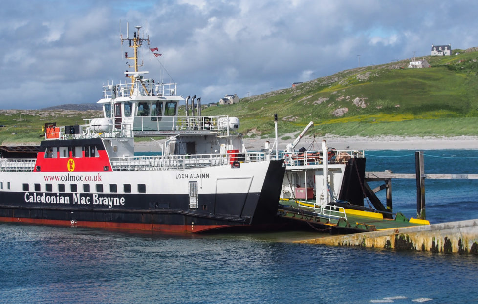 The Eriskay ferry