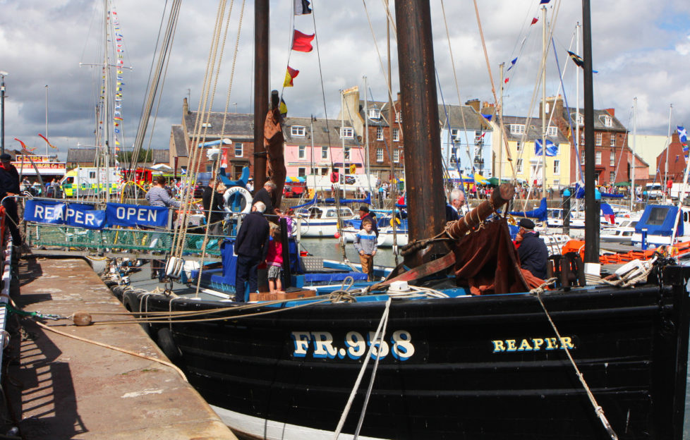 The famous Reaper at Arbroath Seafest