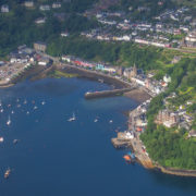 Tobermory from the air