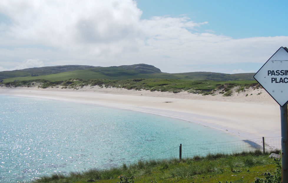 The silver sands of Vatersay beach