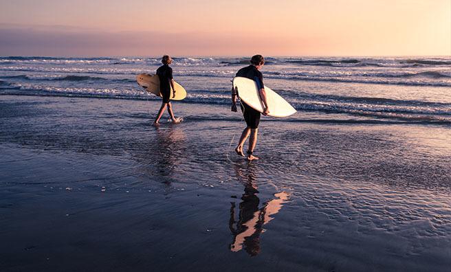 Surf's up on Aberdeen's beaches! Pic: Shutterstock