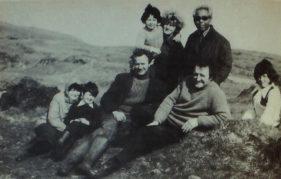 A group of Gigha islanders