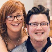 Jamie and Kelly Scott. Photo by Laura McKinnon