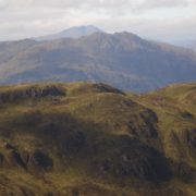 Looking across to Ben Lomond, scene of an earlier Scots Mag hike. Photo by Garry Fraser