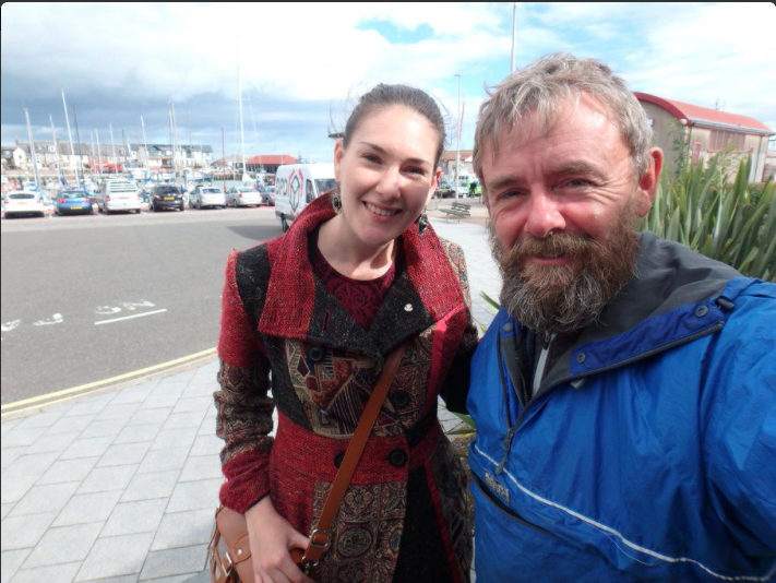 Katrina met up with Nick in sunny Arbroath to hear of his adventures