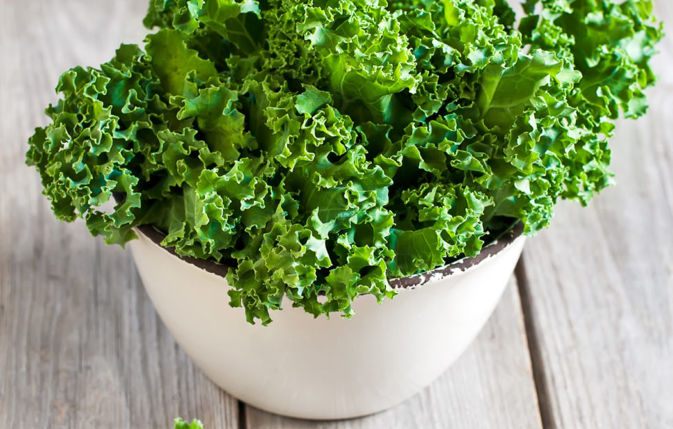 Kale is really easy to grow yourself - and it's incredibly good for you too! Pic: Shutterstock