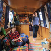 Why canal boat life is on the rise in Edinburgh