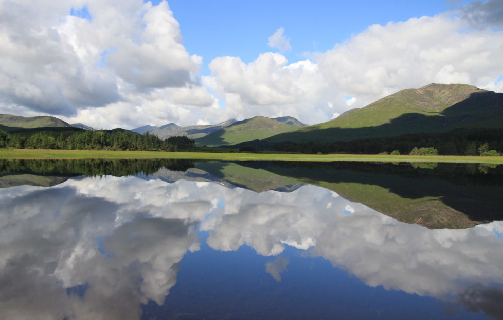 Loch Tulla, Gllen Orchy. Where we went after breakfast on our first morning at the Bridge of Orchy