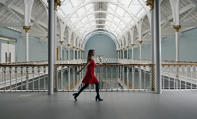 Building restoration work at the National Museum of Scotland has been completed, ahead of the installation of ten new galleries. Photo by Neil Hanna.